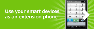 Use your smart devices as an extension phone